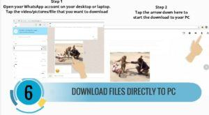 download whatsapp direct to PC 6