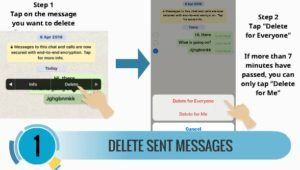 how to delete whatsapp sent messages 1